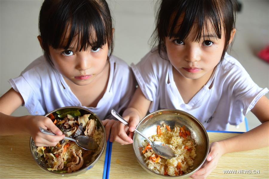 China's Nutrition Program Benefits 37 Mln Rural Students