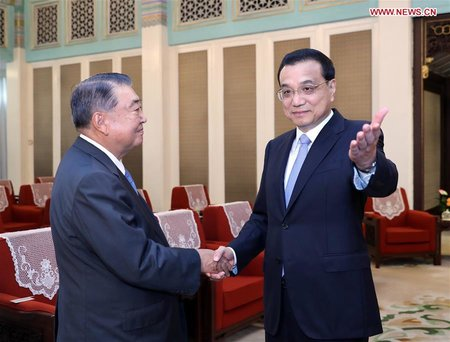 Premier Li Expects Healthy, Steady China-Japan Relationship