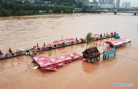 China Battles Floods in Northern Regions